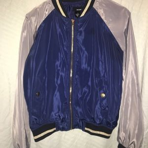 Jackets & Blazers - Blue bomber jacket